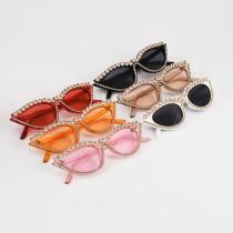 Retro cat's eye lady full of sunglasses