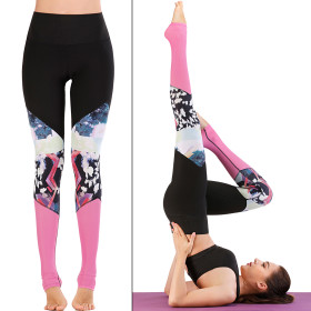 Sweat wicking Yoga Pants exercise fitness pants