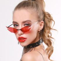 Street Photo punk Sunglasses cross border fashion glasses