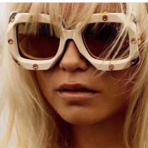 Square concave Sunglasses cross border glasses