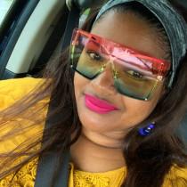 Men's and women's Sunglasses cross border frameless Sunglasses