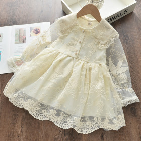 Lace super fairy long sleeve princess skirt