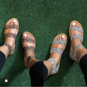 Printed sandals for women