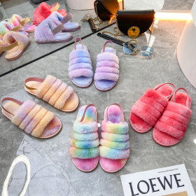 Home size sandals with heel