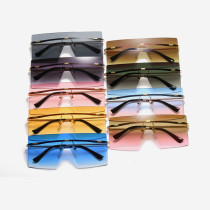 Personal rimless Sunglasses