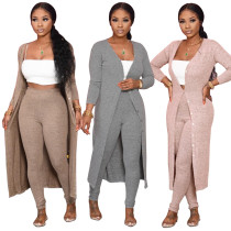 Fashion casual two piece suit (excluding white corset)