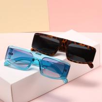 Box Sunglasses versatile flat top Sunglasses trend retro Korean ins glasses