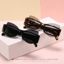 Box glasses fashion cat glasses PC piece versatile glasses