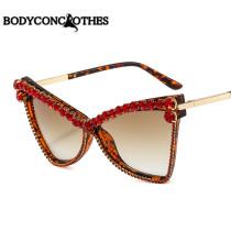 Cat's eye, diamond, sunglasses, sunglasses