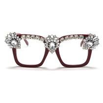 Fashion, handmade, diamond inlaid, sunglasses, fashion, glasses, sunglasses