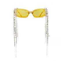 Hand made, tassel, sunglasses, jelly, glasses, sunglasses