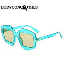 Irregular, sunglasses, candy color, fashion, fashion