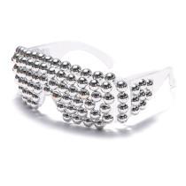 Color, blinds, glasses, handmade, diamond inlaid, sunglasses