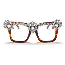 Fashion, handmade, diamond inlaid, sunglasses, fashion, glasses, sunglasses