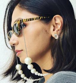 Jewelry, pearl, Eyeglass Chain, neck hanging, eyewear rope