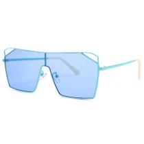 Square, conjoined sunglasses, street shot, tide, sunglasses