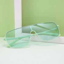 Fashion, conjoined sunglasses, personality, color, glasses