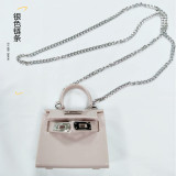 Single shoulder, Messenger Bag, chain, mini, small bag