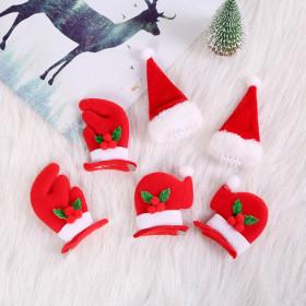 Christmas, headwear, accessories, handmade, Christmas hat, antler, children, hairpin, gift