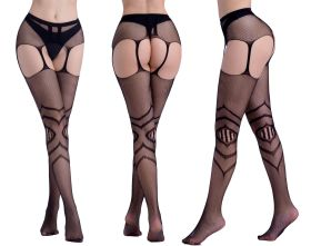 Hollowed out, stockings, jacquard trousers, bottomed hosiery, fishing net stockings