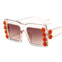 Rose, square, sunglasses, fashion, sunglasses