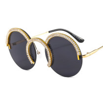 Round, diamond, sunglasses, fashion, sunglasses