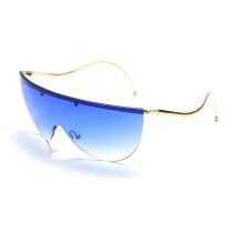 Fashion, personality, curved mirror, sunglasses, swing, sunglasses