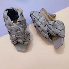 Fashion, sandals, woven uppers, high heels, sandals