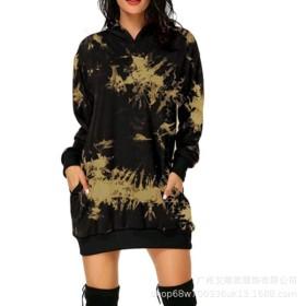 Christmas, print, medium length, pocket, hood, long sleeve, sweater