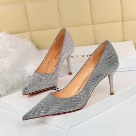 Fashion, banquet, stiletto, stiletto, cusp, Sequin, high heels