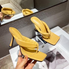 Candy color, stilettos, high heels, sandals