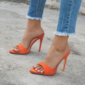 Pointy, stiletto, slippers