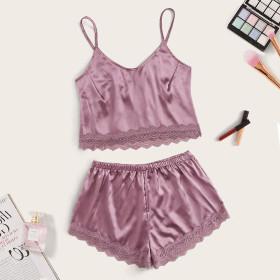 Sexy, pajamas, perspective, lace, multicolor, suit, sexy underwear