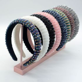 Baroque, hairband, diamond headband, braid, pearl, crystal headband