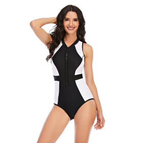 One piece, sleeveless, surfsuit, sunscreen, swimsuit, sexy, swimsuit