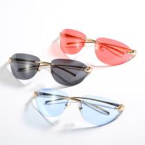 Frameless, trimming, cat's eye, glasses, sunglasses