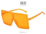 Big box, sunglasses, fashion, colorful, multicolor, sunglasses