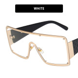 Square, one piece, sunglasses, frameless, glasses, sunglasses