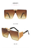Fashion, big frame, sunglasses, riding, sunglasses, square, sun visors