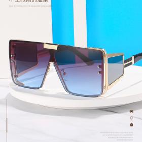 Fashion, big frame, sunglasses, riding, sunglasses, square, sun visors