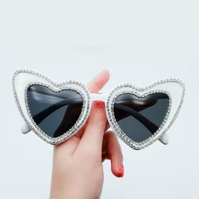 Diamond, sunglasses, heart, glasses