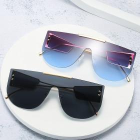Big frame, one piece, glasses, fashion, side, lens, sunglasses