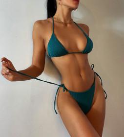Thread fabric, triangle, bandage, bikini, swimsuit