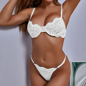 Lace, embroidery, sexy, perspective, sexy underwear, suit