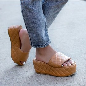 Thick soles, slippers, simple, cool slippers