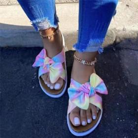 Rainbow, flat, slippers