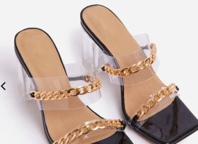 Chains, high heels