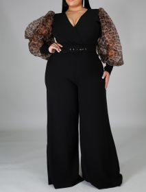 Large, loose, wide leg, Jumpsuit