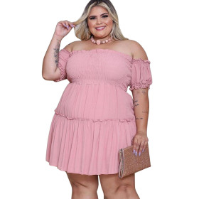 Slim, waist down, irregular, large, dress