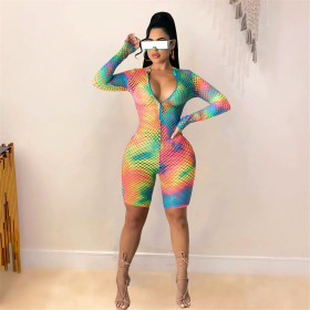 Tie dyed, cut out, positioning